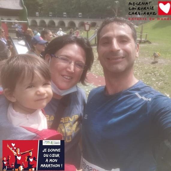 Courir pour leurs cœurs . Objectif 1er Marathon 42 ans 42km