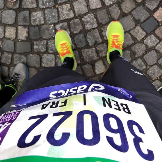 le Marathon de Paris solidaire MECENAT CHIRURGIE CARDIAQUE