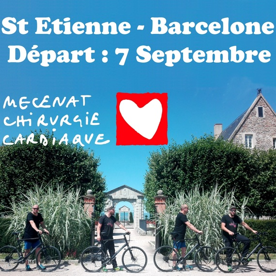 ST ETIENNE BARCELONE A VELO